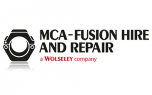 MCA fusion hire and repair logo